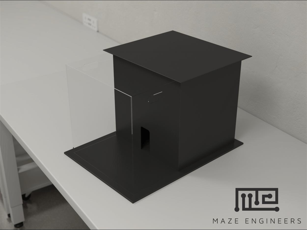 Maze Engineers Light Dark Box