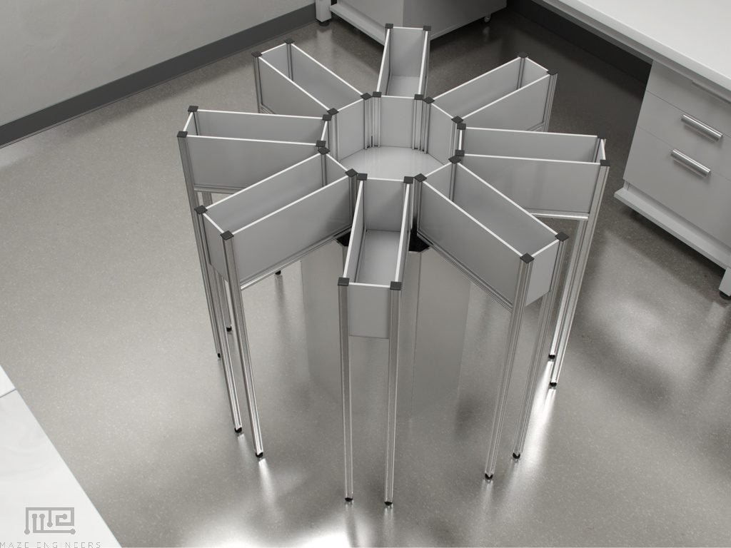Mouse Automated 8 Arm Radial