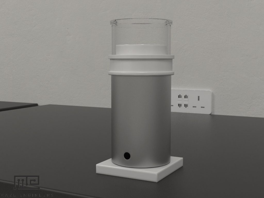 Maze Engineers automated pellet dispenser