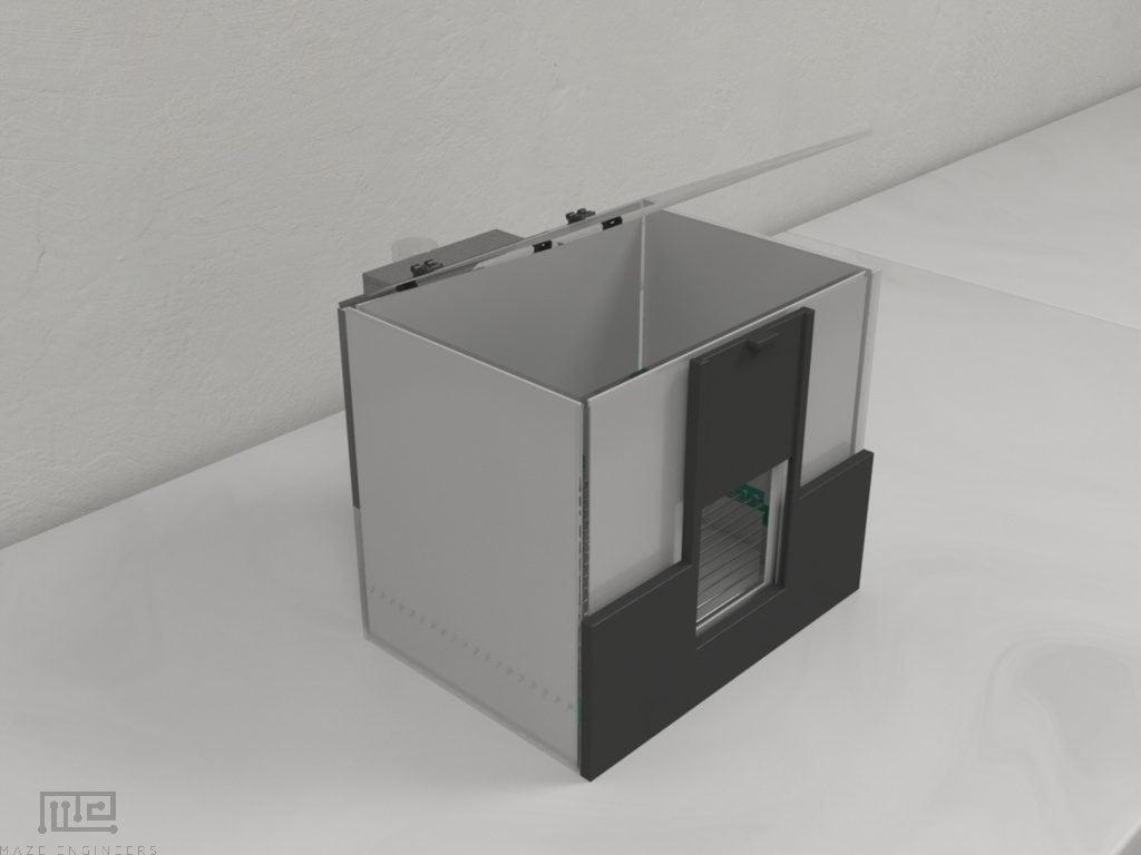 Maze Engineers Vogel's test apparatus