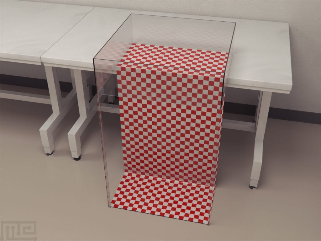 Visual Cliff was created and used for depth perception experiments