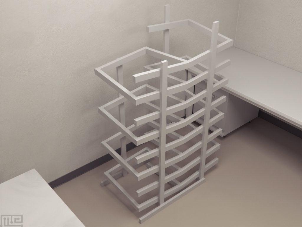Simple Alteration Tridimensional Maze