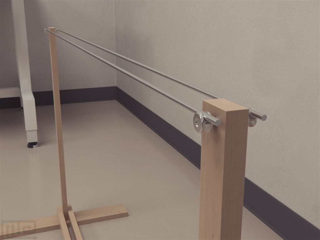 Parallel Bars is a static apparatus, unlike the RotaRod