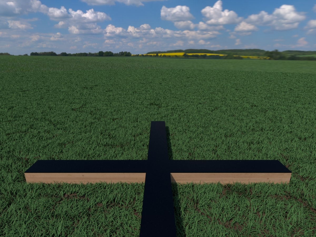 Virtual Plus Mazes can use a combination of real-world elements and virtual elements