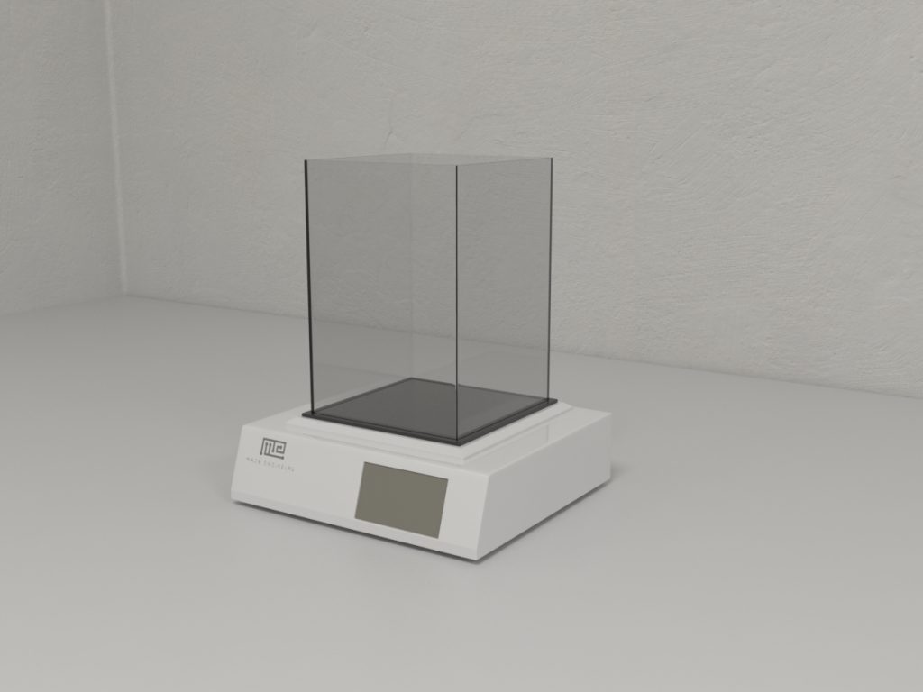 Hot/Cold Plate apparatus consists of a plantar surface that can be set to a constant temperature or programmed to increase or decrease the temperature gradually