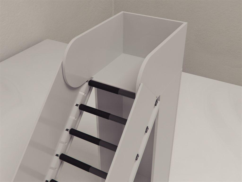 Incline rolling ladder test is a novel test sensitive to tactile and proprioception sense