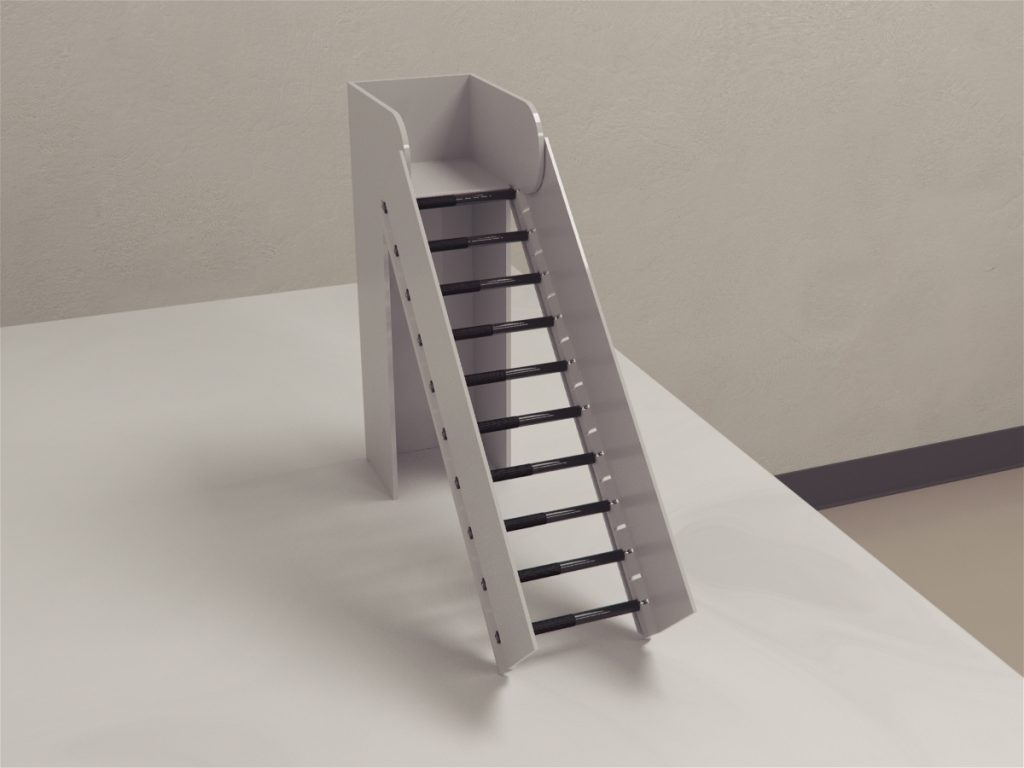 Incline rolling ladder test is a novel test sensitive to tactile and proprioception sense. Fagoe et al. developed incline rolling ladder test to study functional deficits in rats