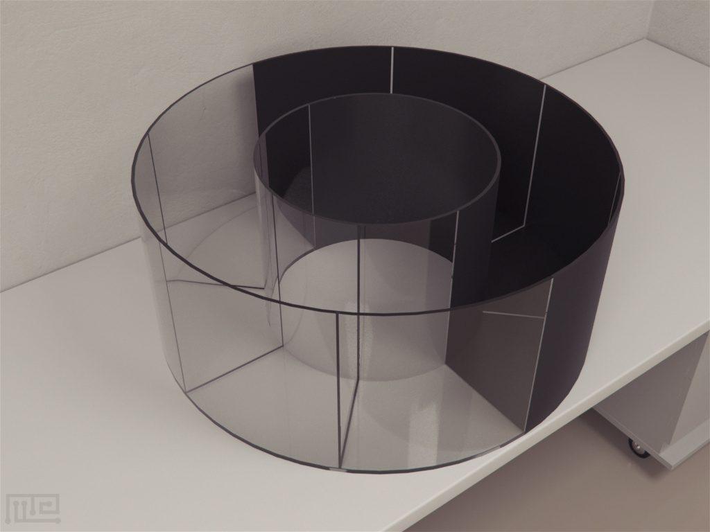 Circular Light-Dark Box Maze Engineers