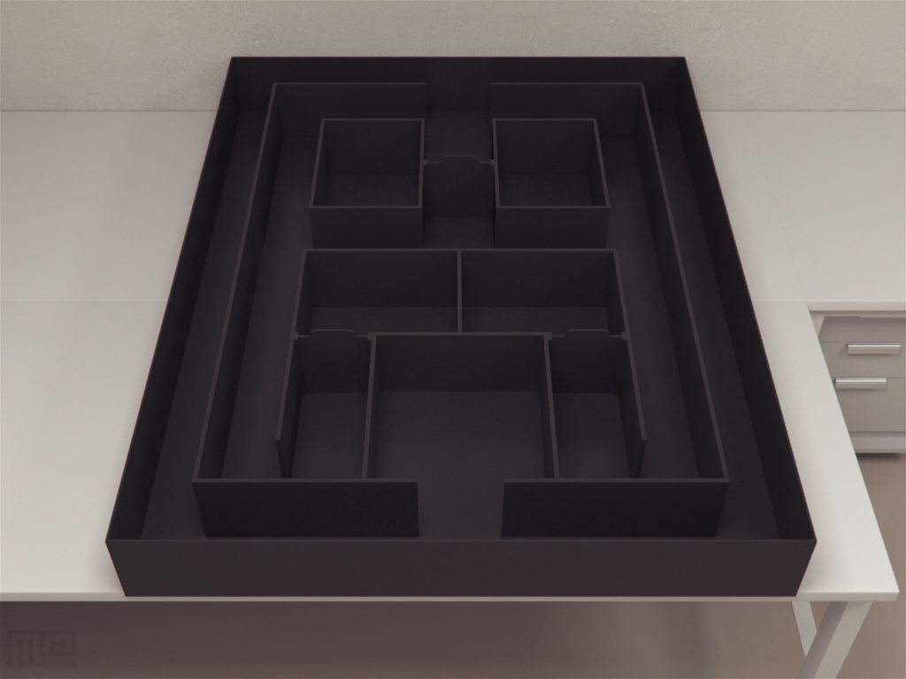MazeEngineers version of the Town Maze is sized for both mice and rats and can be ordered in a variety of colors.