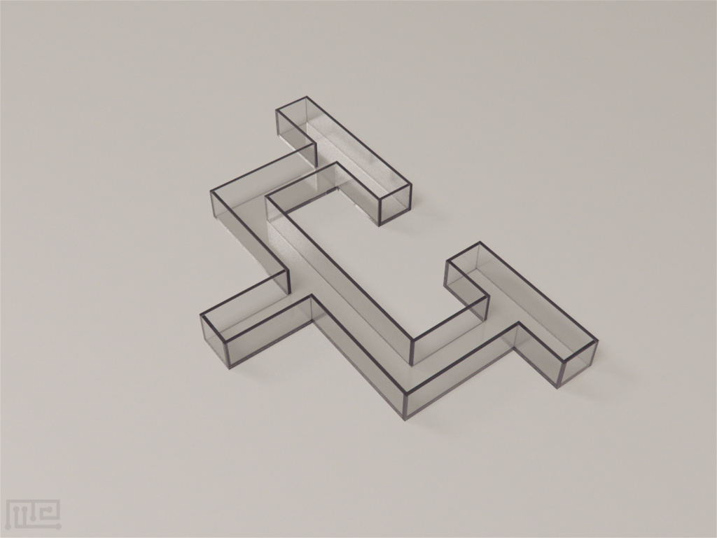 Multiple T-maze's return rails form a lap-based task for the subjects