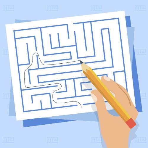 paper maze
