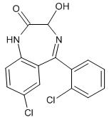 ativan chemical structure