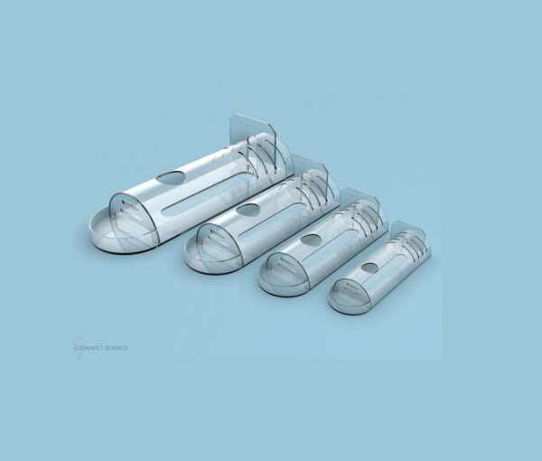 Flat Bottom Restrainers for Rodent Experiments - Product Image