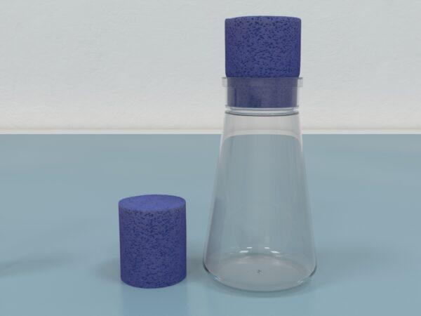 Foam Plugs, Drosophila Bottles