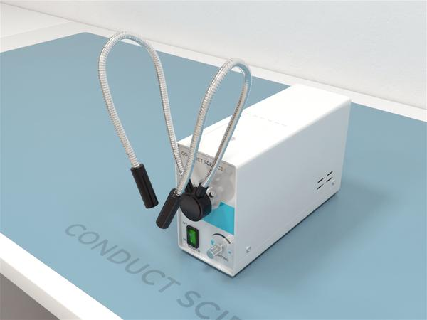 Fiber-Lite Illuminator - this apparatus generates white light for clear view for surgical procedures
