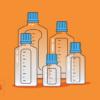 PETG Media Bottle Sterile
