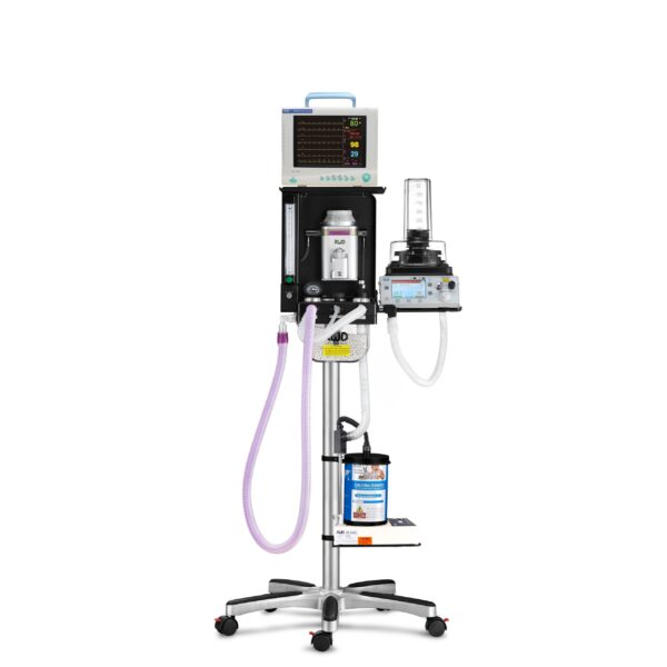 Portable Anesthesia Machine (Ventilator Assisted)