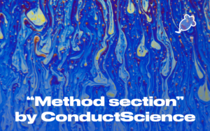 method section by Conduct Science