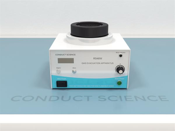Conduct Science's anesthesia scavenging machine