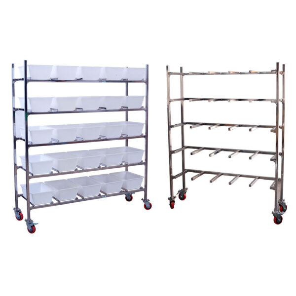 Mice Cage Hanging Trolley 15 Cage